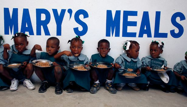 Mary's Meals feeding over 1 million children every school day
